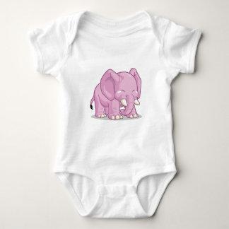 Cute Elephant Baby Bodysuit