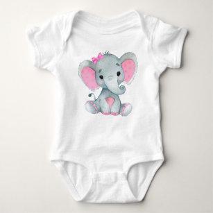 Little Peanut Cute Elephant New Arrival Unisex Baby Vest Grow Grow Bodysuit NEW
