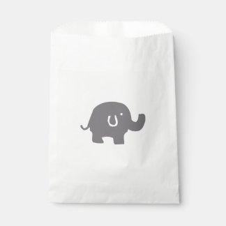 Cute Elephant Baby Shower Favor Bags