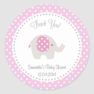 elephant baby stickers zazzle