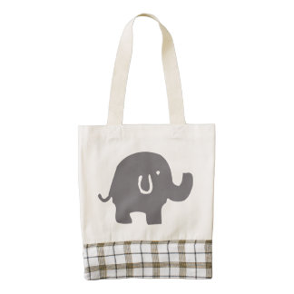 Cute Elephant Baby Shower Tote Bag