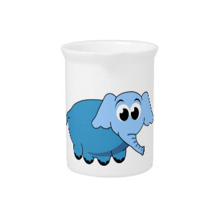 Cute Elephant Beverage Pitcher