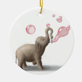 Elephant Ornaments & Keepsake Ornaments | Zazzle