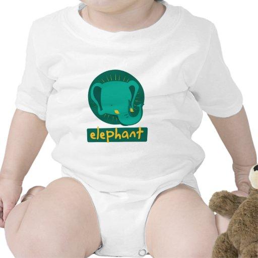 cute elephant bodysuits