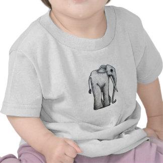 Cute elephant by Aije T-shirts