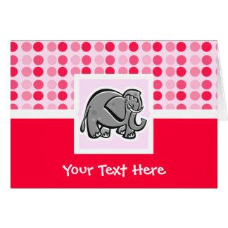 Cute Elephant Card