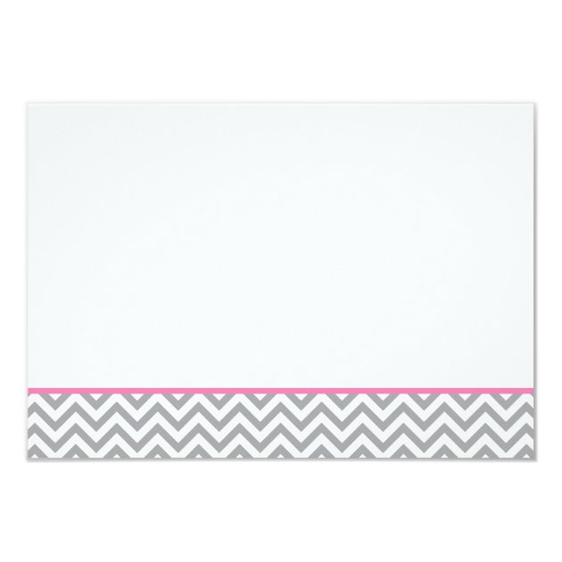 cute elephant chevron pink girl baby shower book card   zazzle, Baby shower invitations