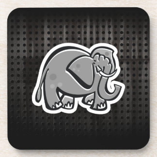 Cute Elephant; Cool Drink Coaster