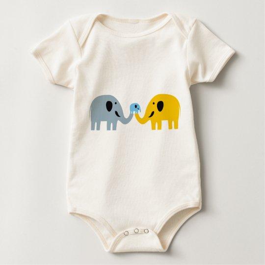 Cute Elephant Family T-shirts