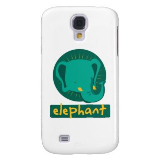 cute elephant galaxy s4 cover