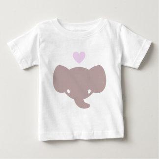 Cute Elephant Heart Graphic Shirt