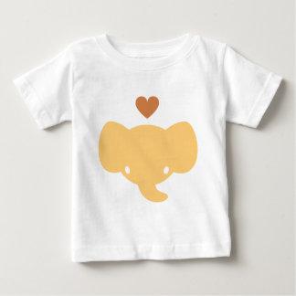 Cute Elephant Heart Graphic T Shirt
