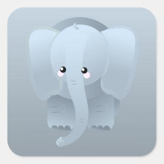 Cute Elephant Jungle  Animals Party Sticker