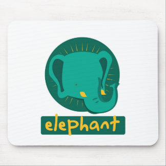 cute elephant mouse pad