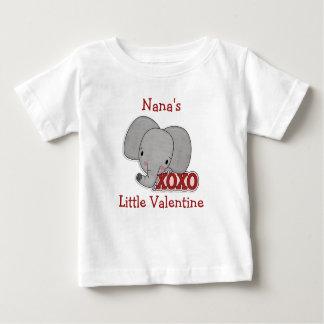 Cute Elephant Nana's Valentine T-shirt