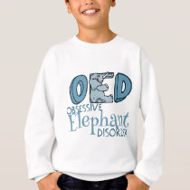 Cute Elephant Obsessed Sweatshirt