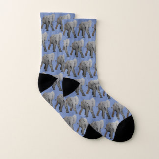 Cute Elephant Pattern Socks