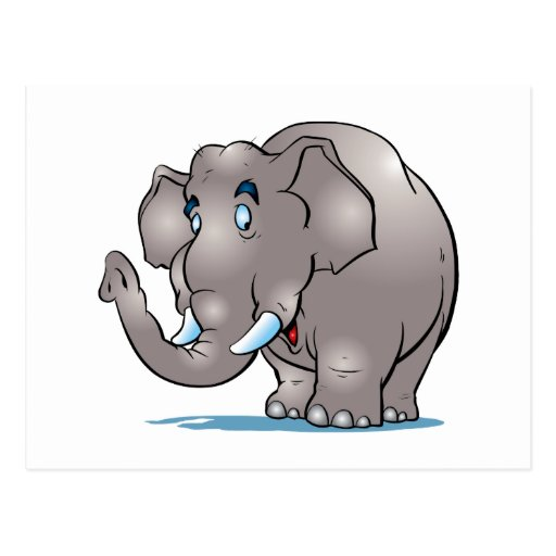 Cute Elephant Postcard