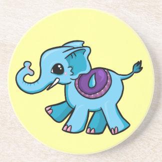 Cute Elephant Sandstone Coaster