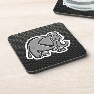 Cute Elephant; Sleek Coaster
