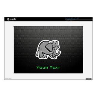 Cute Elephant; Sleek Laptop Decal