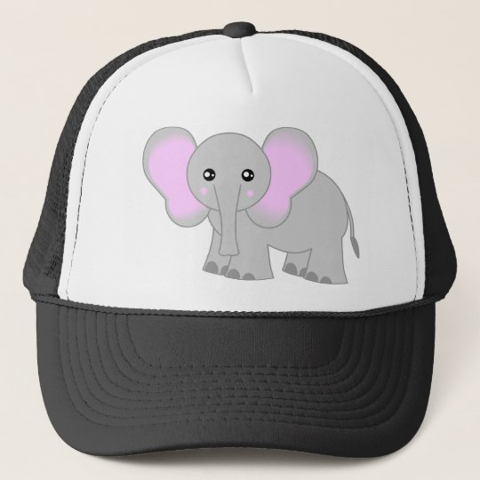 Cute Elephant Trucker Hat
