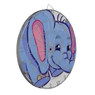 Cute Elephant with Flower Jungle Animal Kids Dartboards