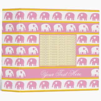 Cute Elephants Binders