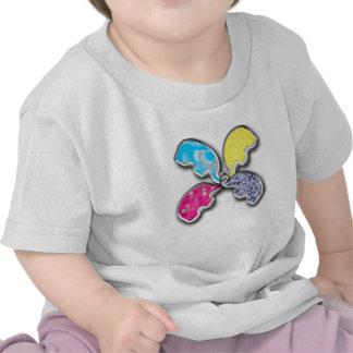 Cute elephants design shirts