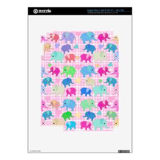 Cute elephants iPad 3 decal