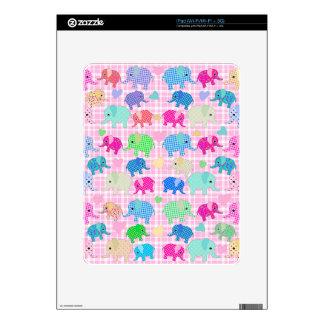 Cute elephants iPad decal