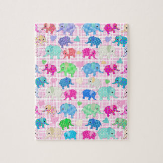 Cute elephants jigsaw puzzle