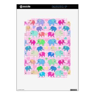 Cute elephants skins for the iPad 2