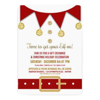 christmas gift exchange invitations