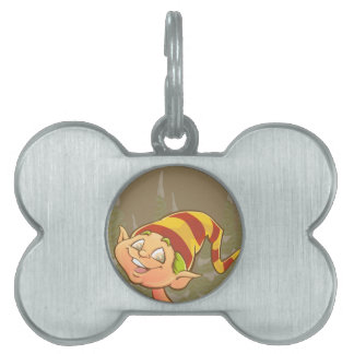 Cute elf pet ID tags