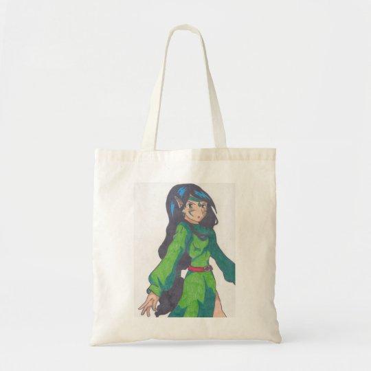 cute elf princess tote bag