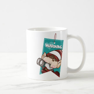 Cute Elf - Warning Elf Coffee Mug