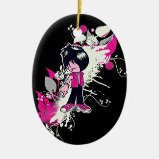 cute emo kid christmas ornaments