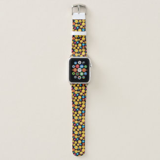 Cute Emoji  Print Watch Band