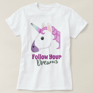 Cute emoji unicorn T-Shirt