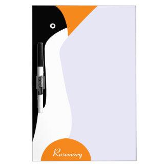 Cute Emperor Penguin Dry Erase Board