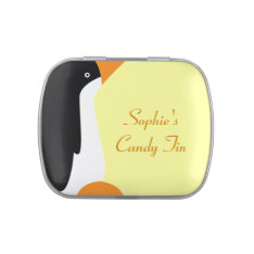 Cute Emperor Penguin Personal Candy Tin at Zazzle