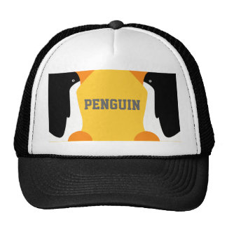 Cute Emperor Penguins On A Team or Group Hat