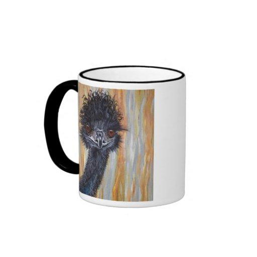 Cute Emu Coffee Mug
