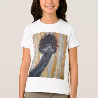 Cute Emu Girls T-Shirt