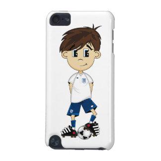 Cute England Soccer Boy itouch Case