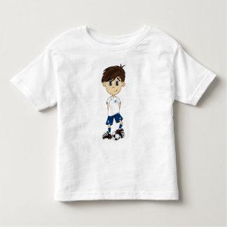 Cute England Soccer Boy Tee