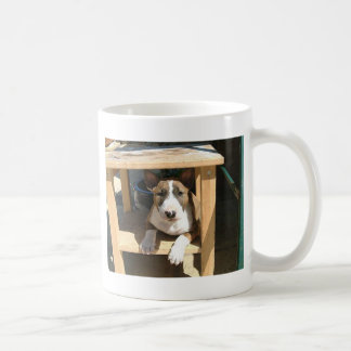 Cute English Bull Terrier Puppy Coffee Mug