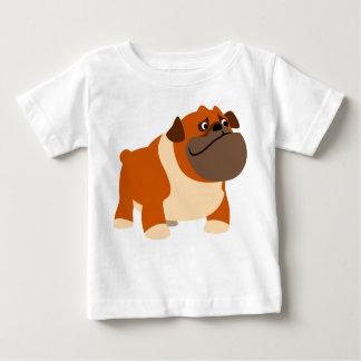 Cute English Bulldog Baby Clothing Baby T-Shirt