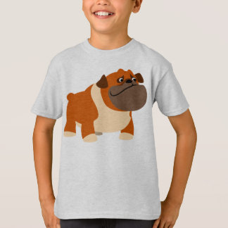 Cute English Bulldog Children T-Shirt